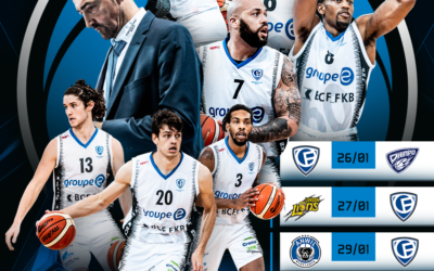 Place à la FIBA Europe Cup pour Olympic !