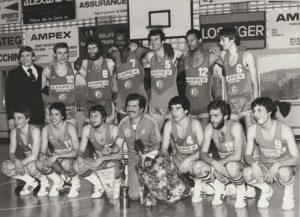 Fribourg Olympic Basket fête 60 ans d'existence